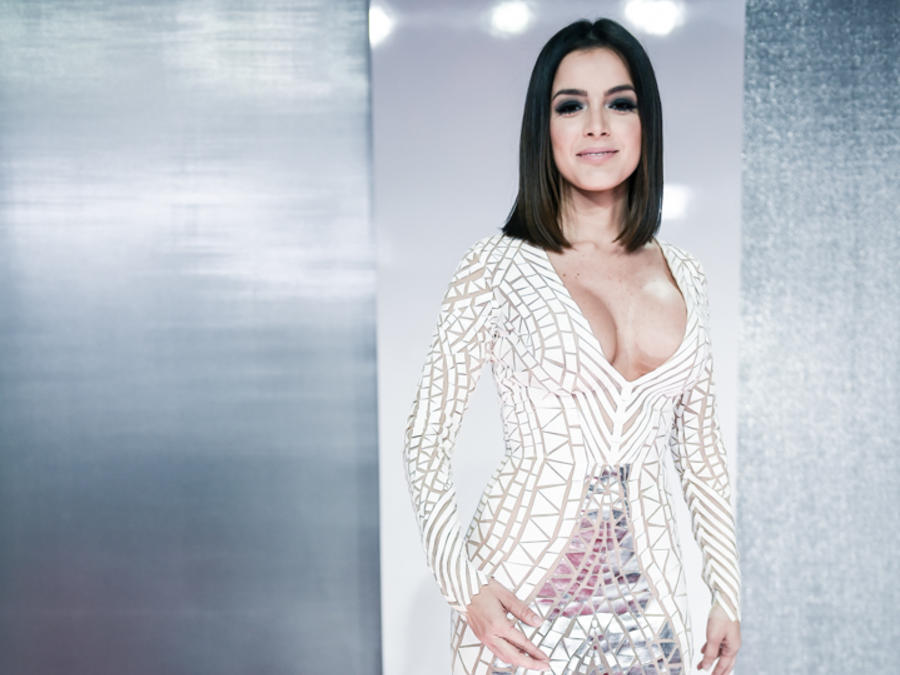 Daniela Navarro en la alfombra roja de Premios Billboard 2016