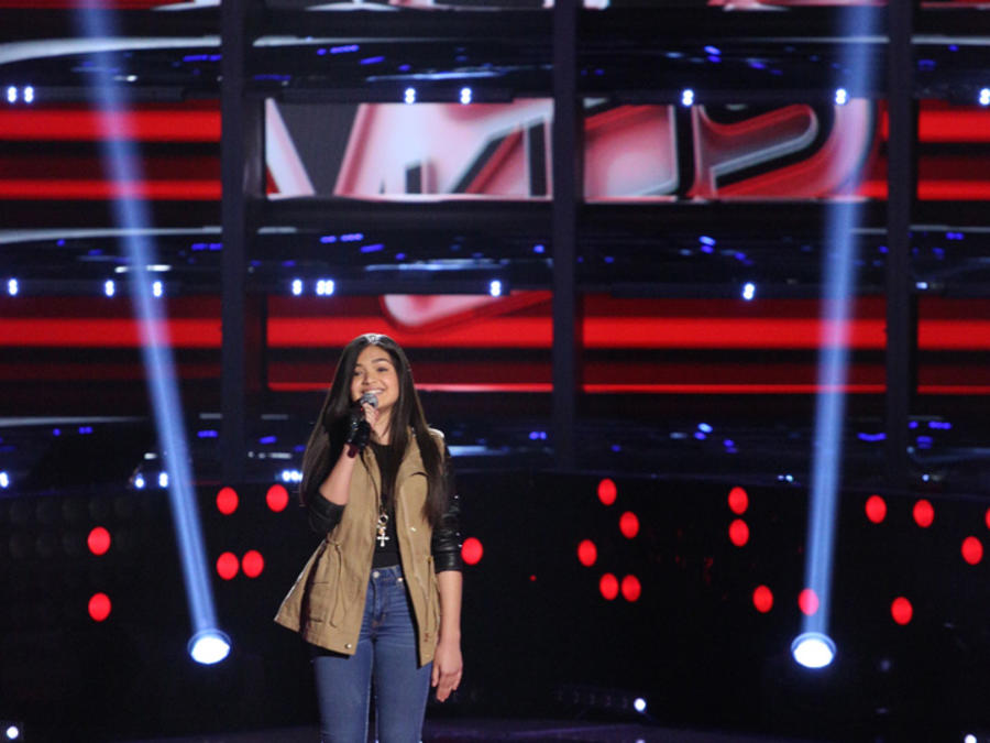 Alejandra La Voz Kids audiciones a ciegas 2016