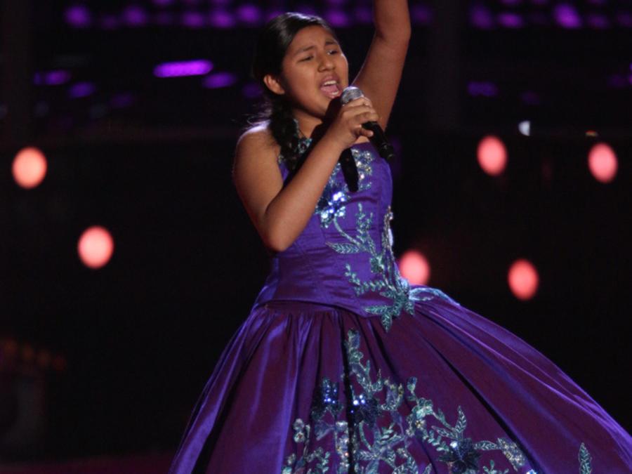 Dulce Audiciones a Ciegas La Voz Kids 2016