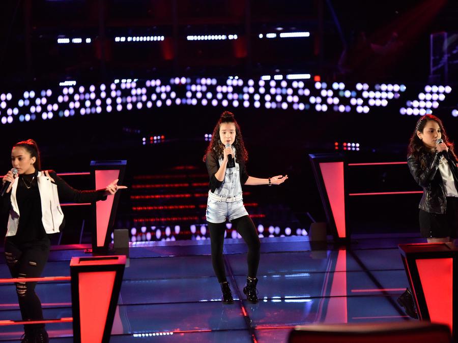 Ruth Vanessa Manuela en la segunda ronda de batallas de La Voz Kids 2016