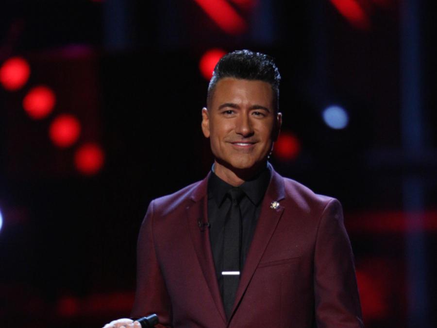 Jorge Bernal en la primera noche de la etapa final de La Voz Kids