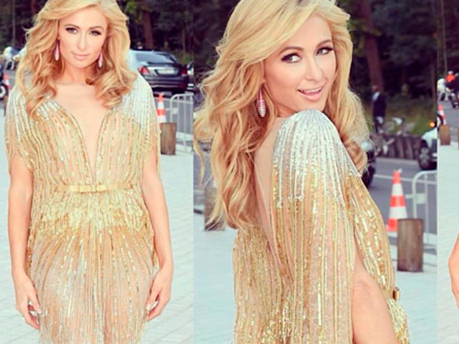 "Paris Hilton en ""Art of Giving"" Love Ball en París"