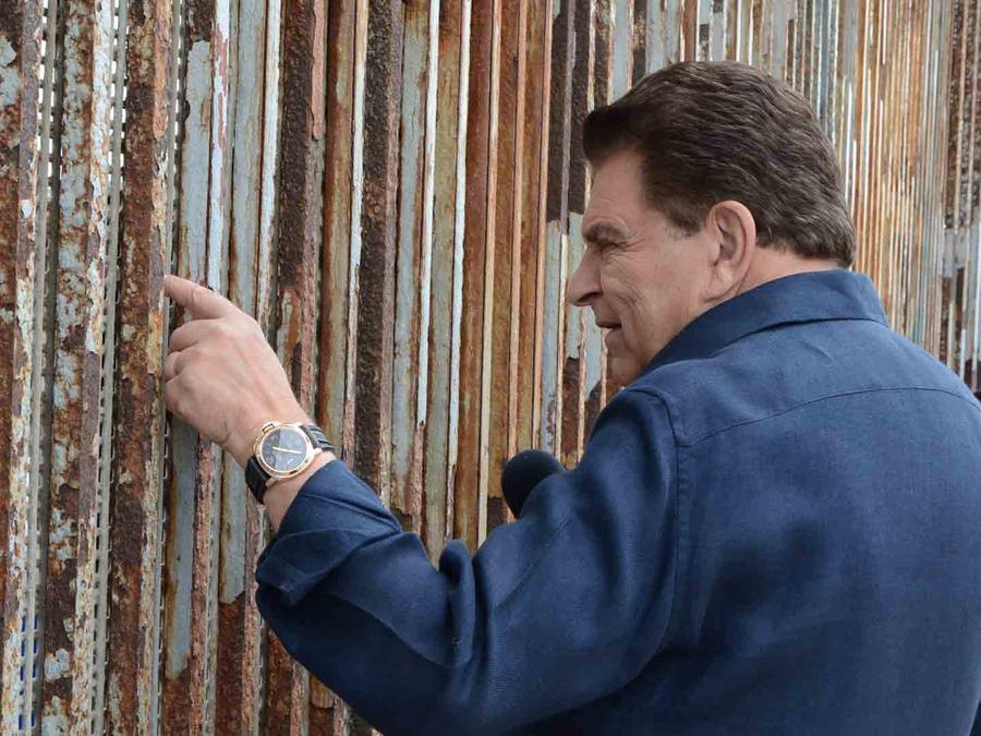 """Don Francisco y el testimonio de """"Rostros de la Frontera"""""""