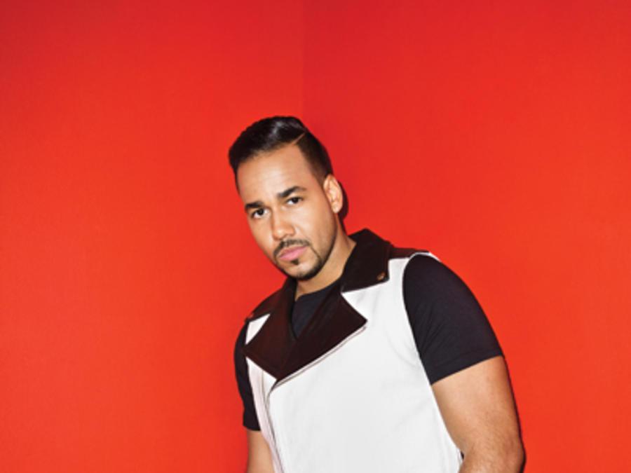 Sesión de fotos de Romeo Santos para Billboard