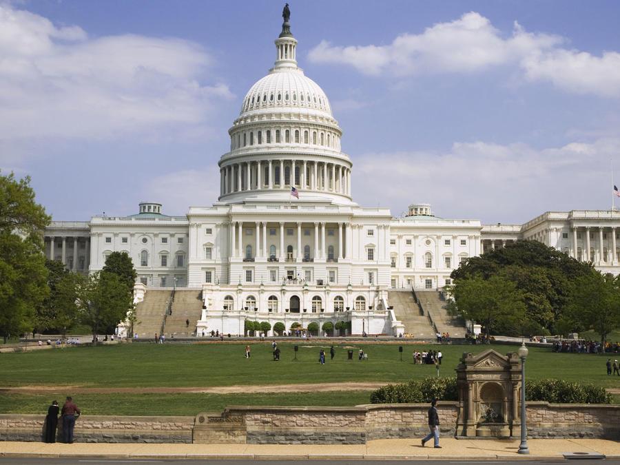 Edificio del Capitolio en Washington D.C.