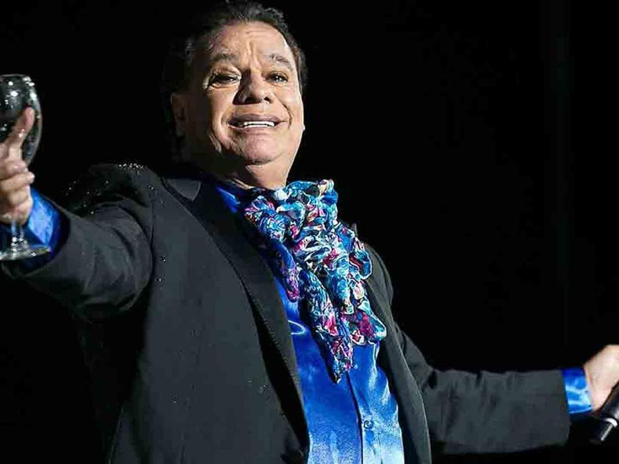 Juan Gabriel en el concierto de Los Angeles