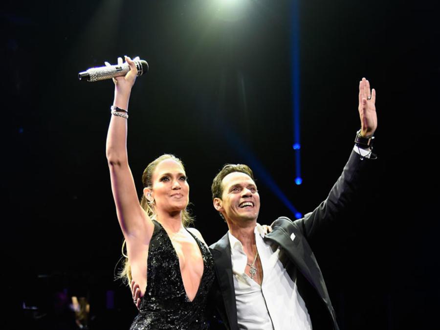 Marc Anthony y Jennifer Lopez concierto Nueva York 2016