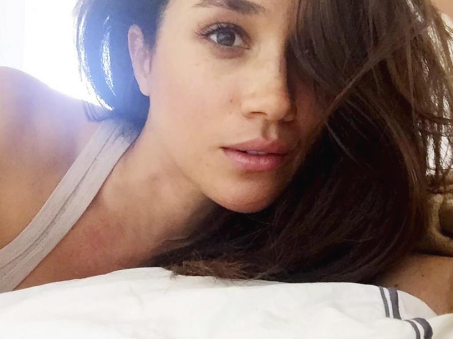Meghan Markle en la cama