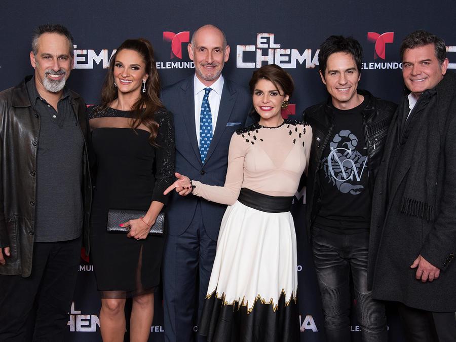 Preestreno, El Chema, elenco, Mauricio Ochmann, Mariana Seoane, Julio Bracho, Itatí Cantoral, Sergio Basañez, Luis Silberwasser
