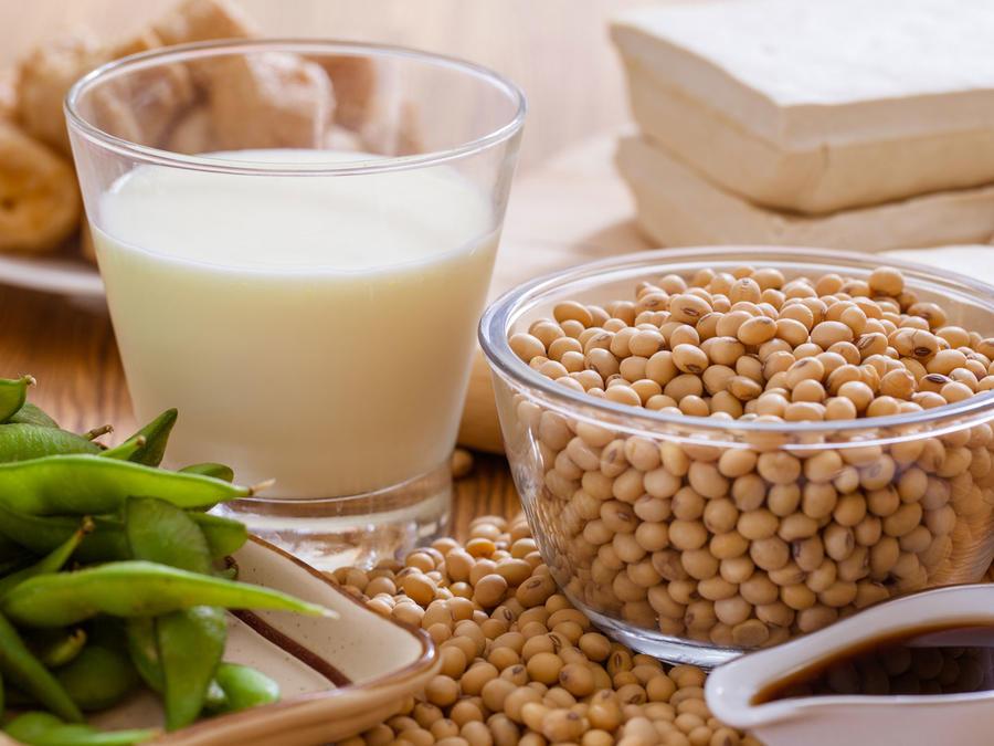Productos a base de soya