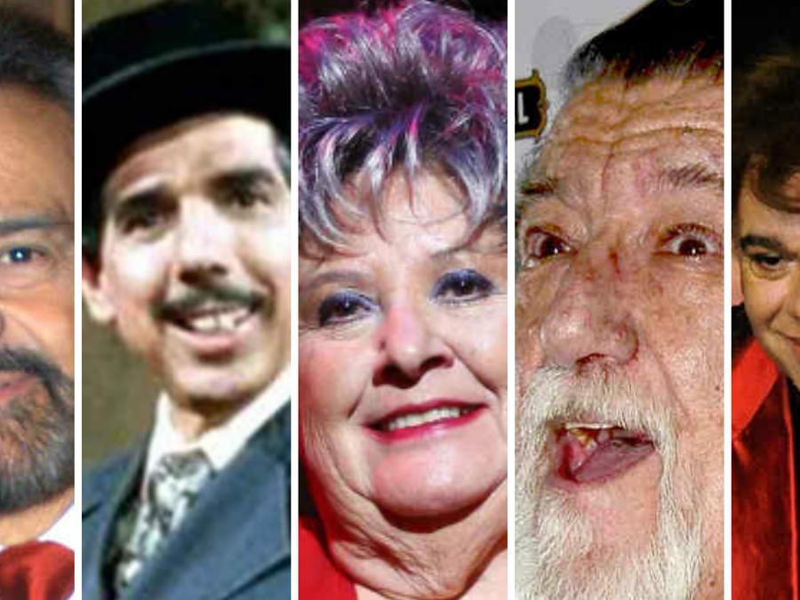 Gonzalo Vega, Chachita, Jirafales, Chatanuga y Juan Gabriel