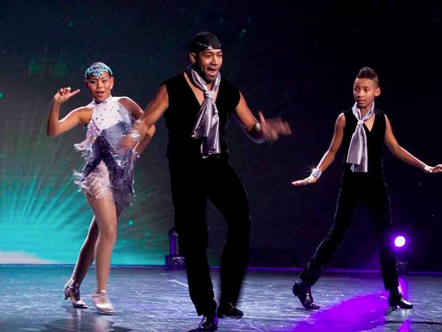Bailarines de Salsa Caleña