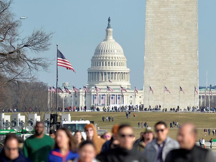 washington inauguracion presidencial