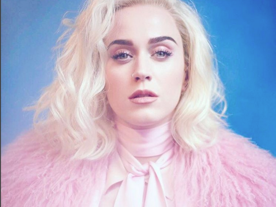 Katy Perry publica foto en Instagram