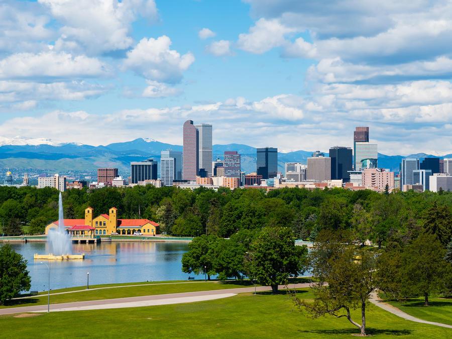 Centro ciudad de Denver, en Colorado