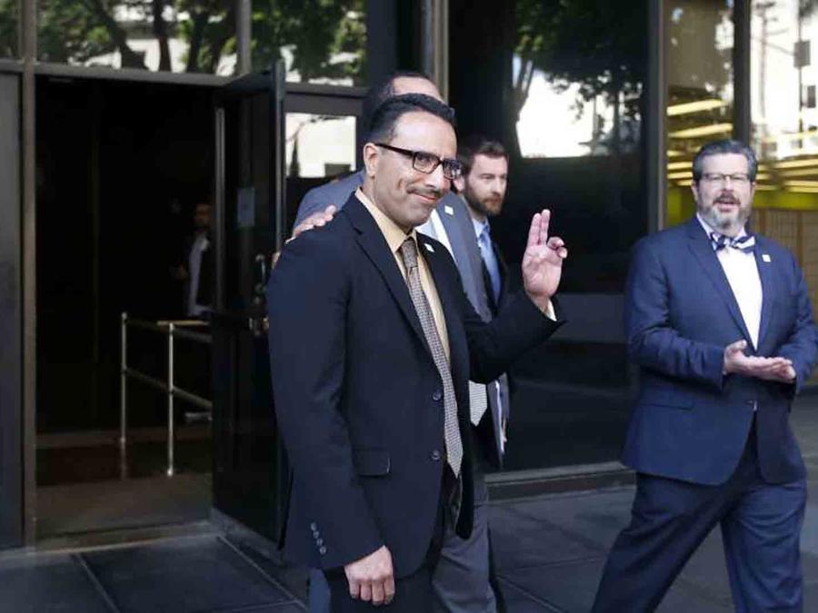 Marco Contreras salió de la Corte Criminal de Los Ángeles como un hombre libre