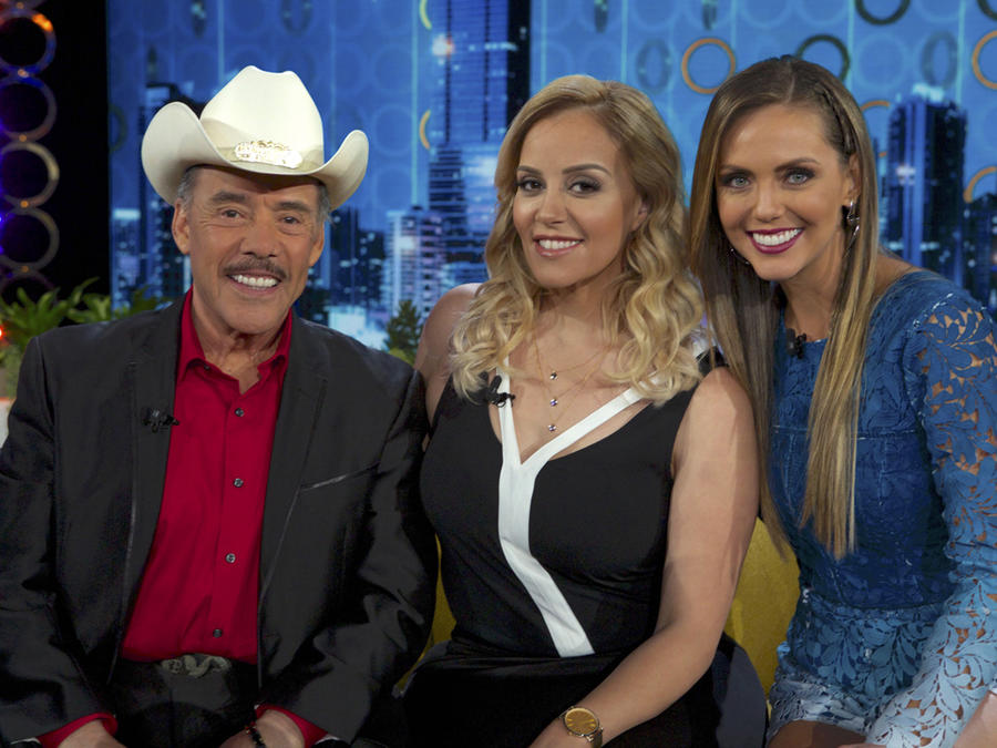 Don Pedro Rivera, Rosie Rivera y Jessica Carrillo en Don Francisco Te Invita