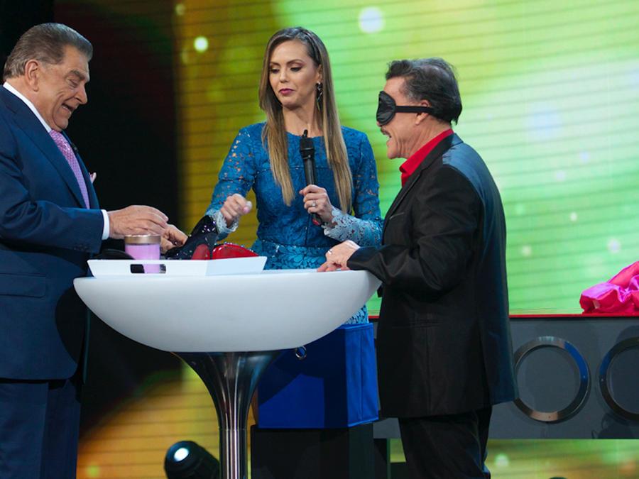 Don Francisco, Jessica Carrillo y Don Francisco