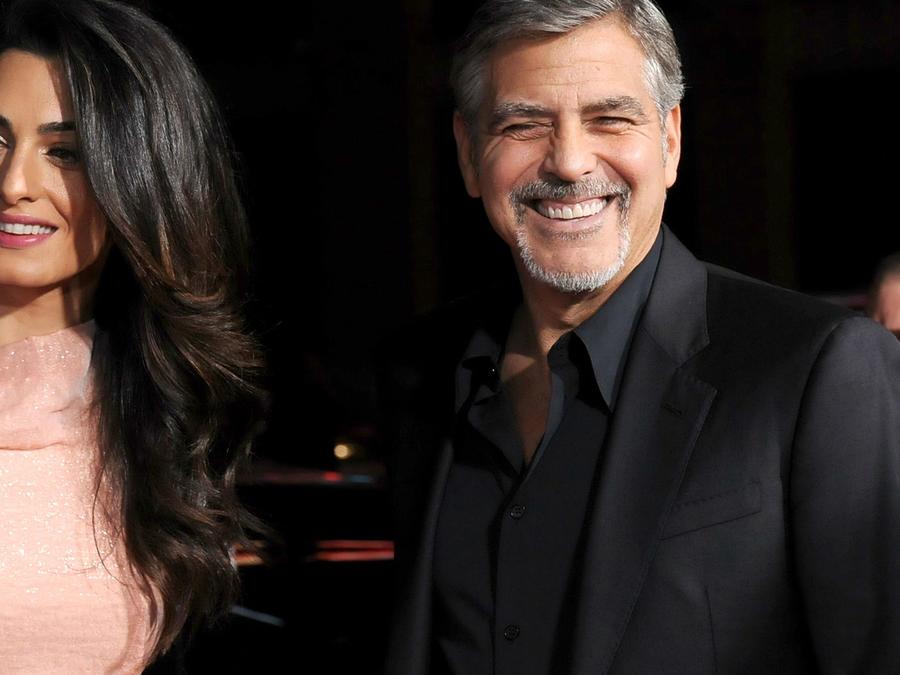 """George Clooney en la premier de """"Our Brand Is Crisis"""" en 2015."""