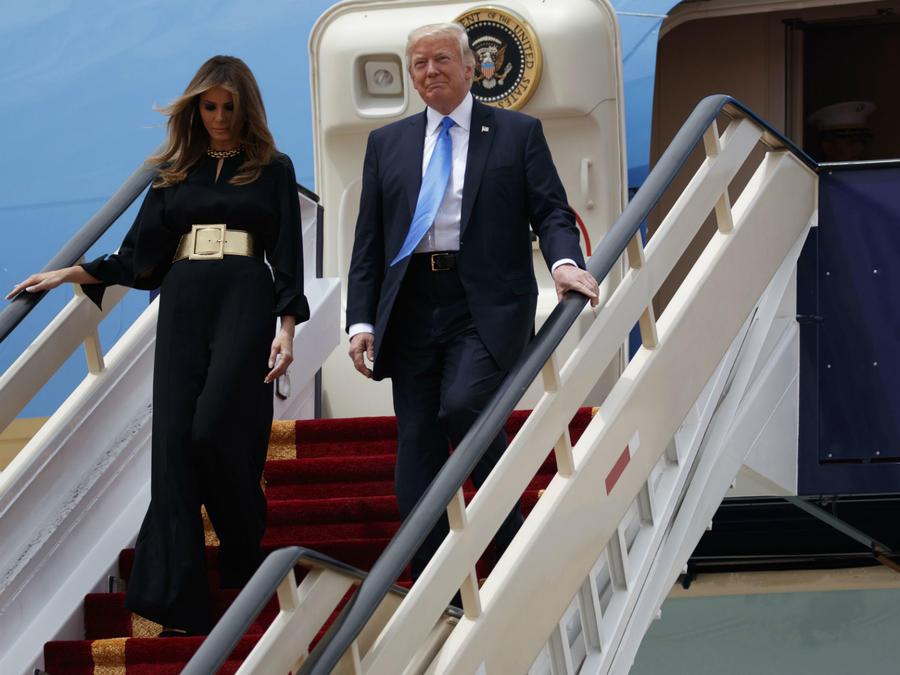 Melania Trump en Arabia Saudita