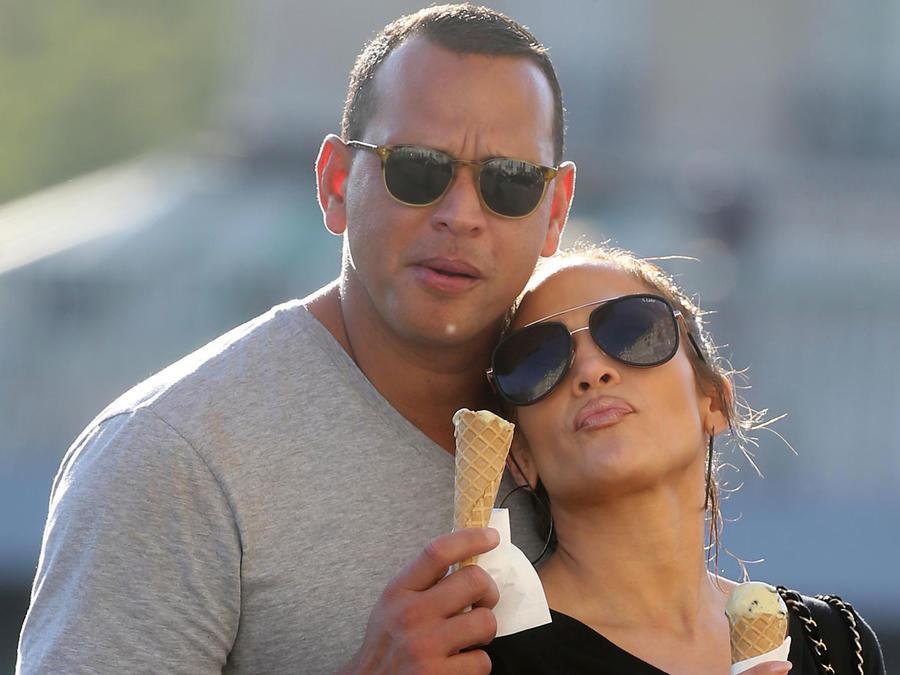 Jennifer Lopez y Alex Rodriguez son la pareja del mundo