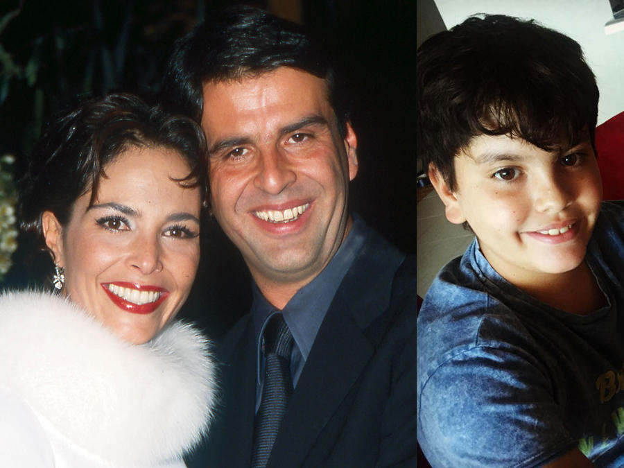 José Fernández Levy, el hijo menor de la fallecida actriz Mariana Levy y el arquitecto José María Pirru Fernández,ya es todo un jovencito.