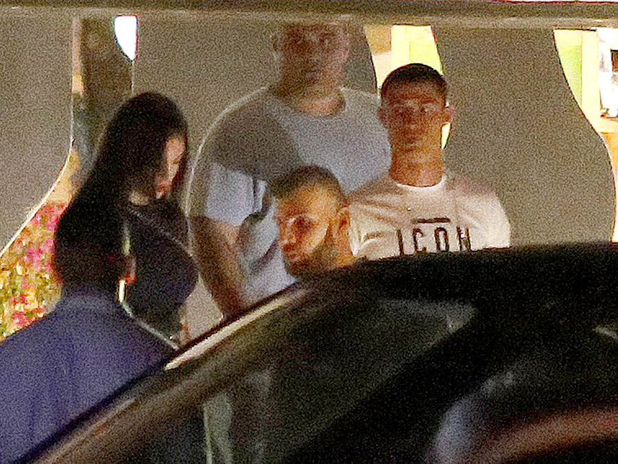 Cristiano Ronaldo y Georgina Rodríguez en Ibiza