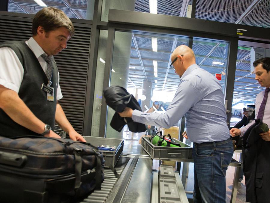 Imagen de archivo de un control de seguridad en un aeropuerto estadounidense.