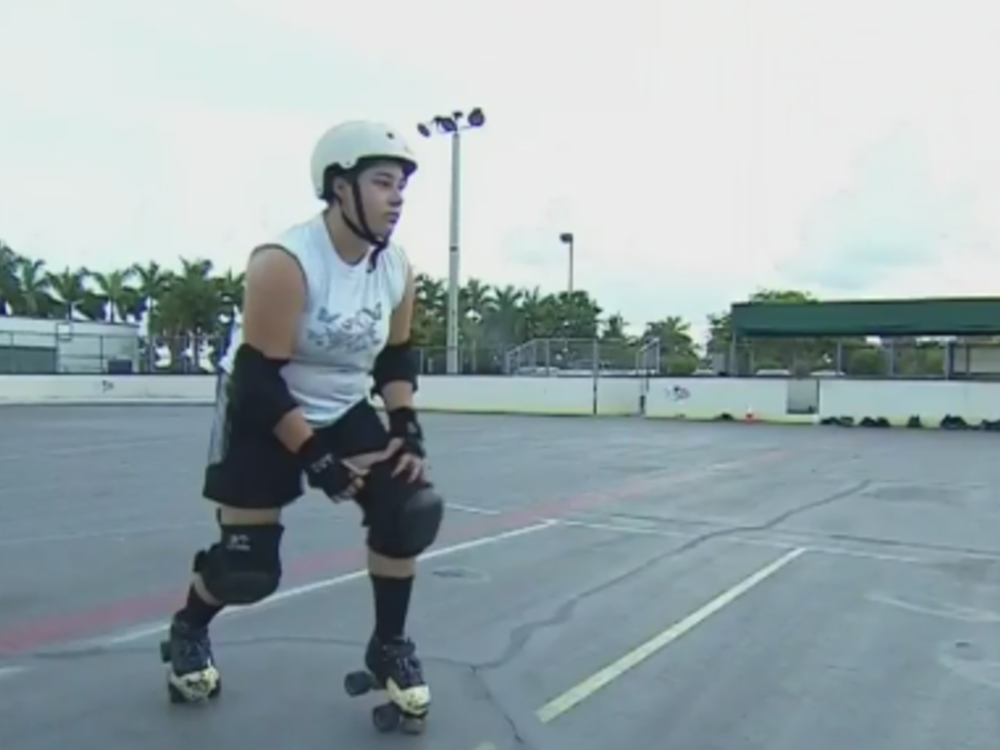 chicas roller