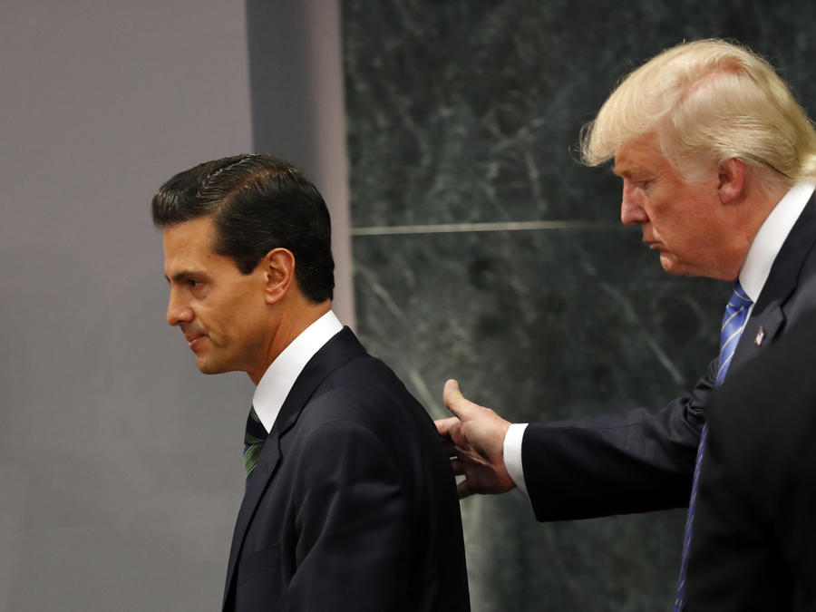Donald Trump,Enrique Pena Nieto