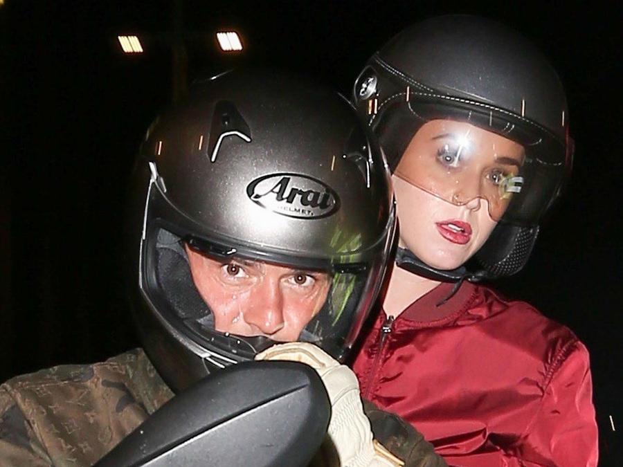 Katy Perry y su exnovio Orlando Bloom asistieron juntos