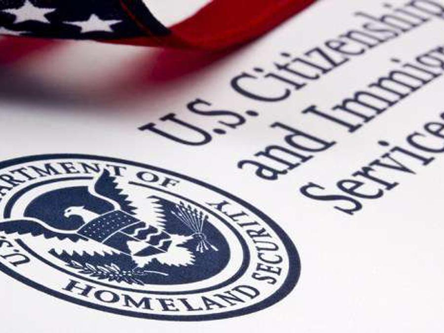 Servicios de Inmigración y Ciudadanía de EEUU en una imgen de archivo