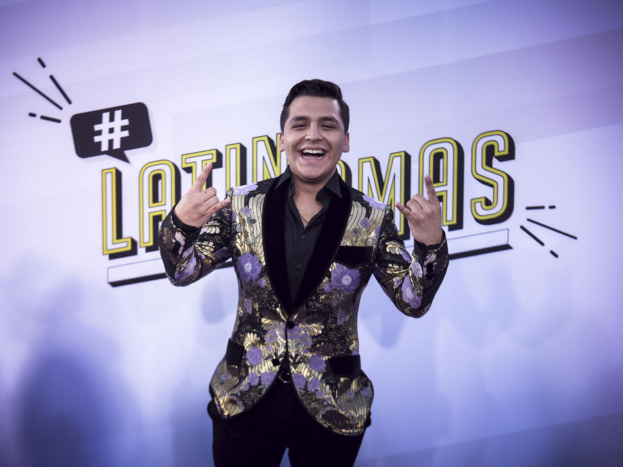 Christian Nodal en los Latin Music Awards 2017