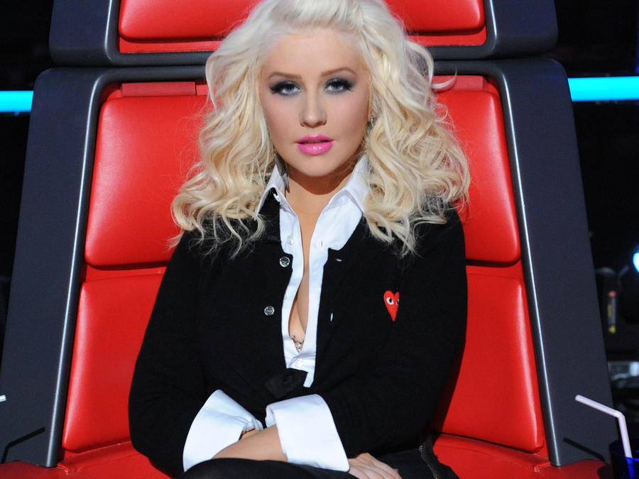 Christina Aguilera en The Voice