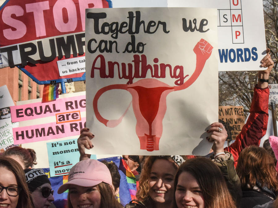 "Mujeres en la ""Women's March 2018"""