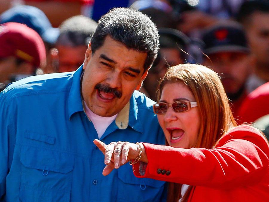 Maduro se ofrece a su partido para ser reelegido presidente de Venezuela.