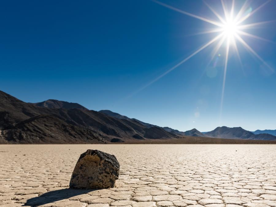 Desierto y sol