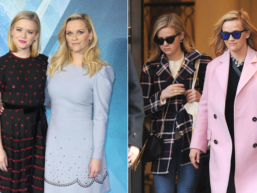 Reese Witherspoon con su hija