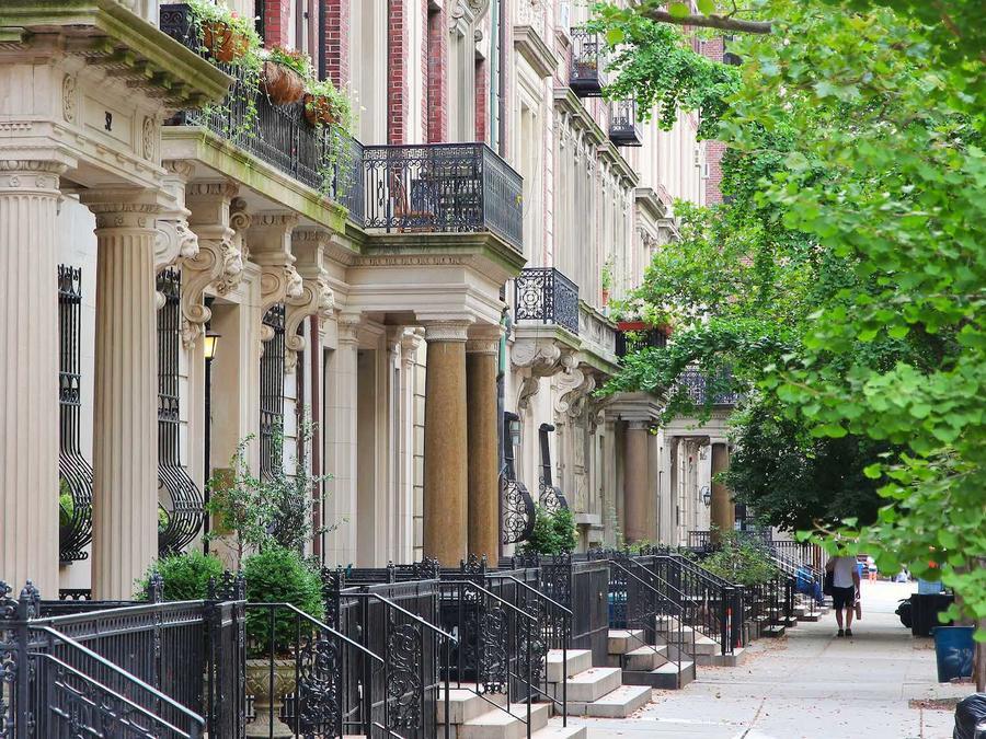 Vecindario Upper West Side en Nueva York
