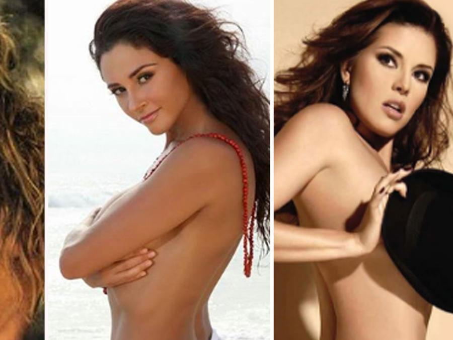 Collage famosas desnudas