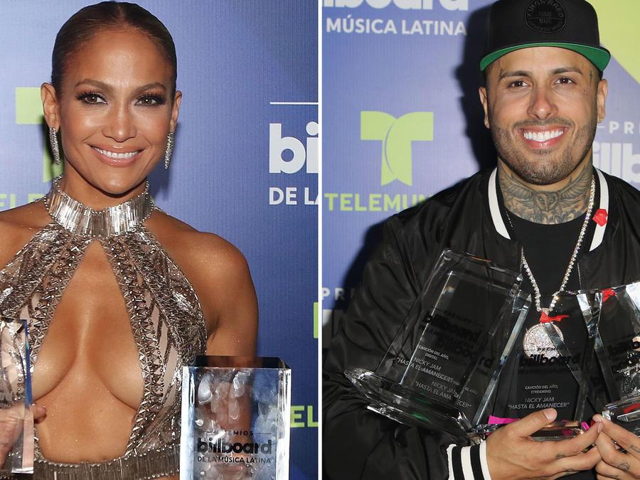 Collage ganadores Premios Latin Billboard 2017