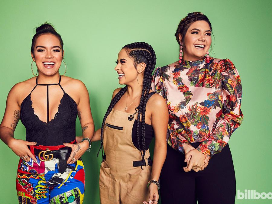 Karol G, Becky G and Yuridia