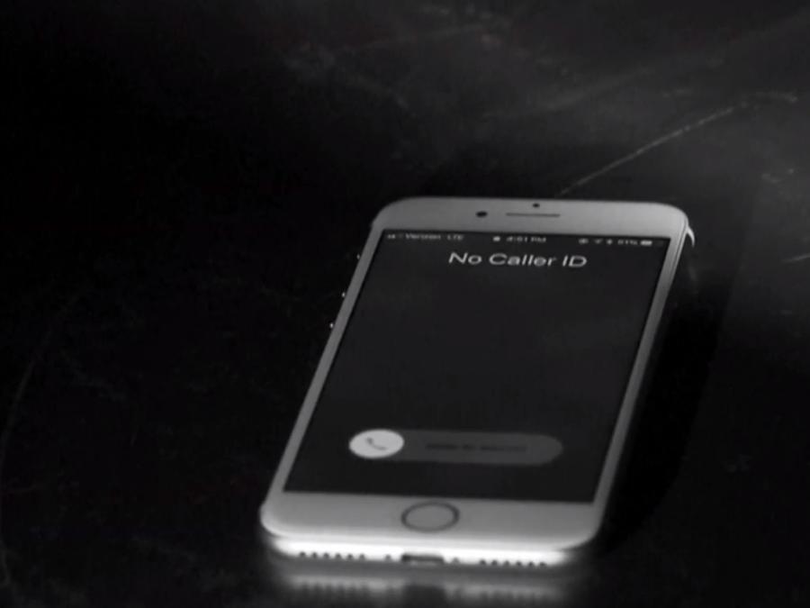 Foto de archivo de un teléfono celular