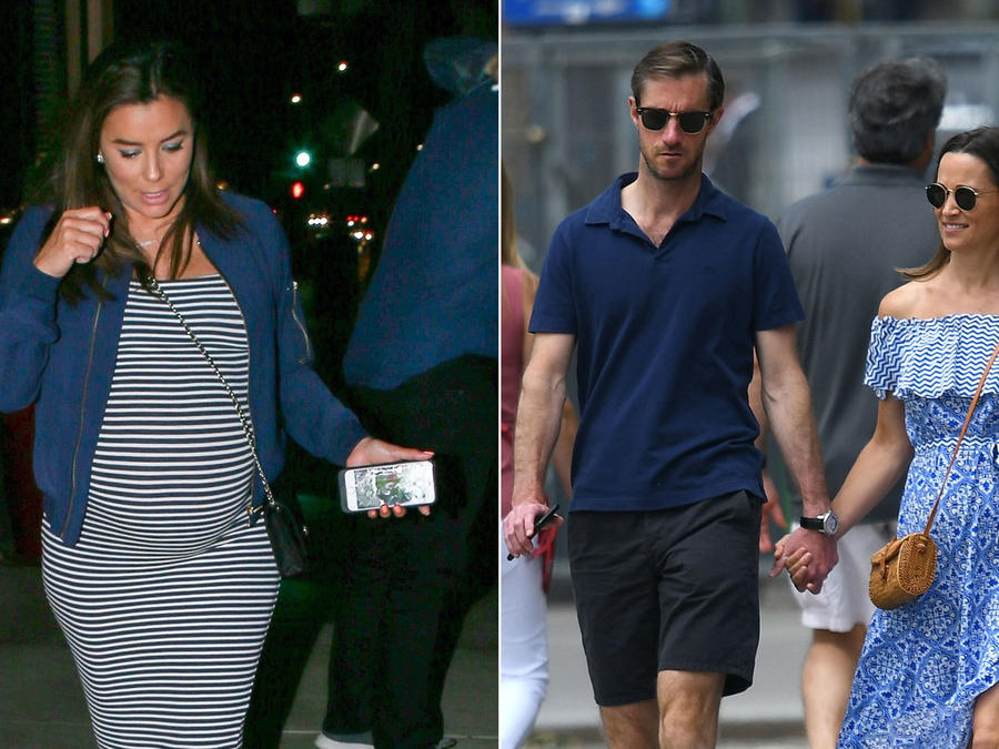 Eva Longoria y Pippa Middleton embarazadas