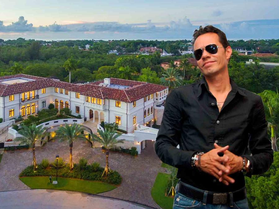 Marc Anthony's mansión