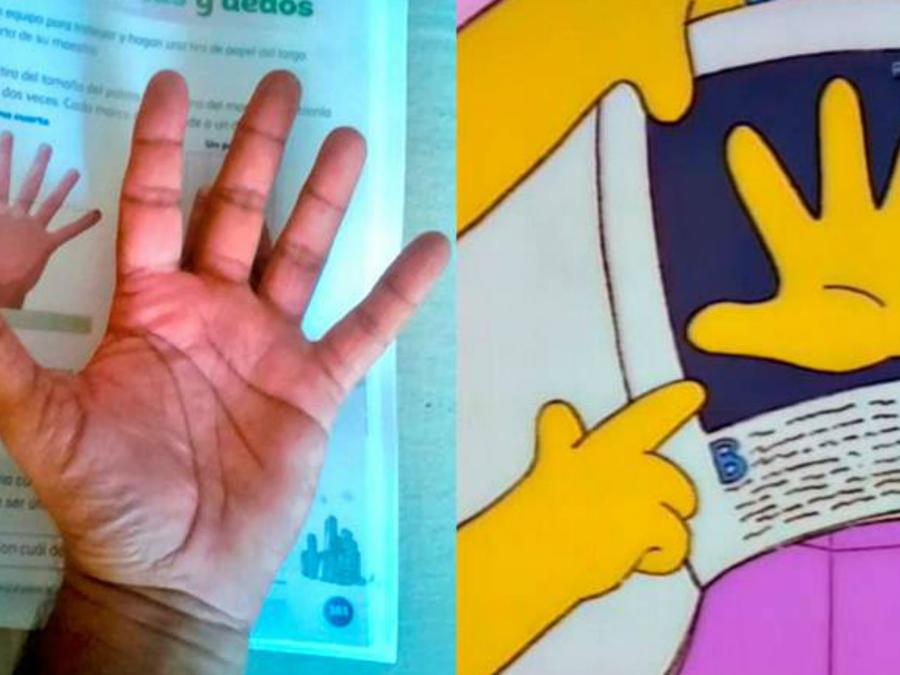 Memes mano con seis dedos