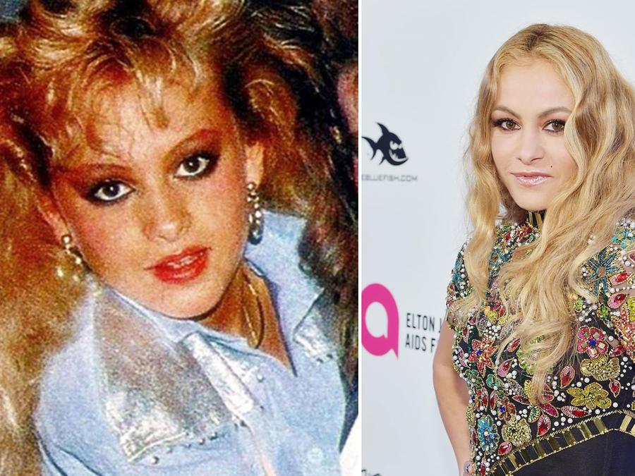 Paulina Rubio antes y después