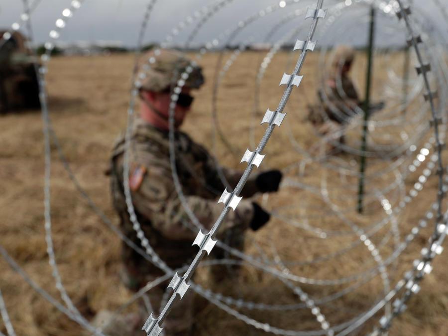 Soldados en la frontera