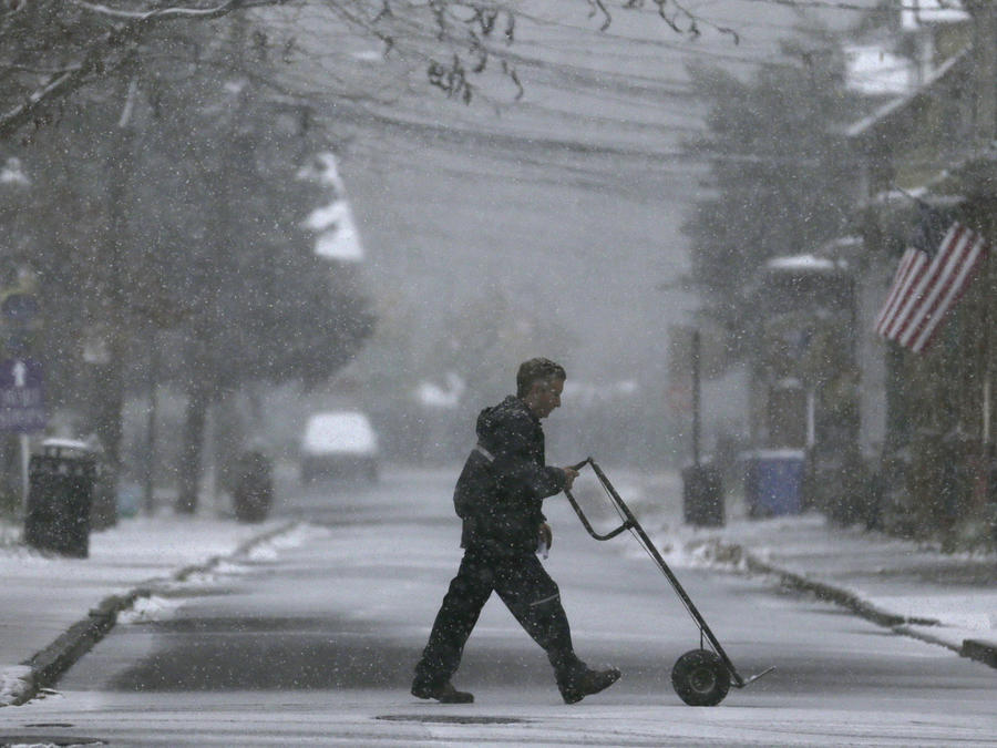 Una ola de frío azota la región este de Estados Unidos, antes del día de Acción de Gracias