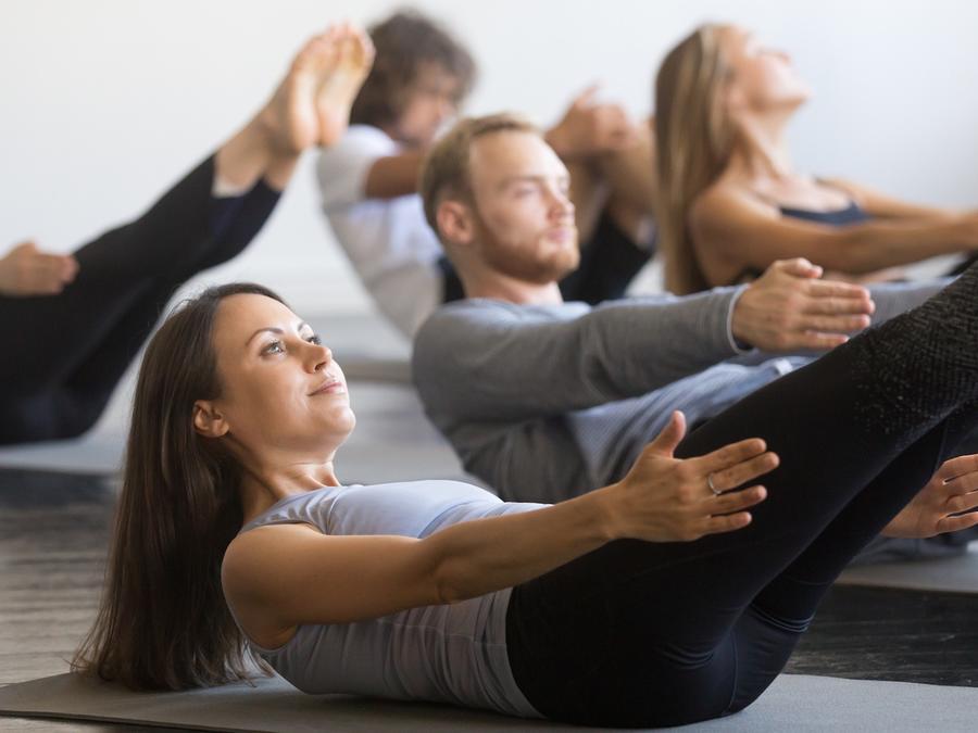 Personas haciendo ejercicio